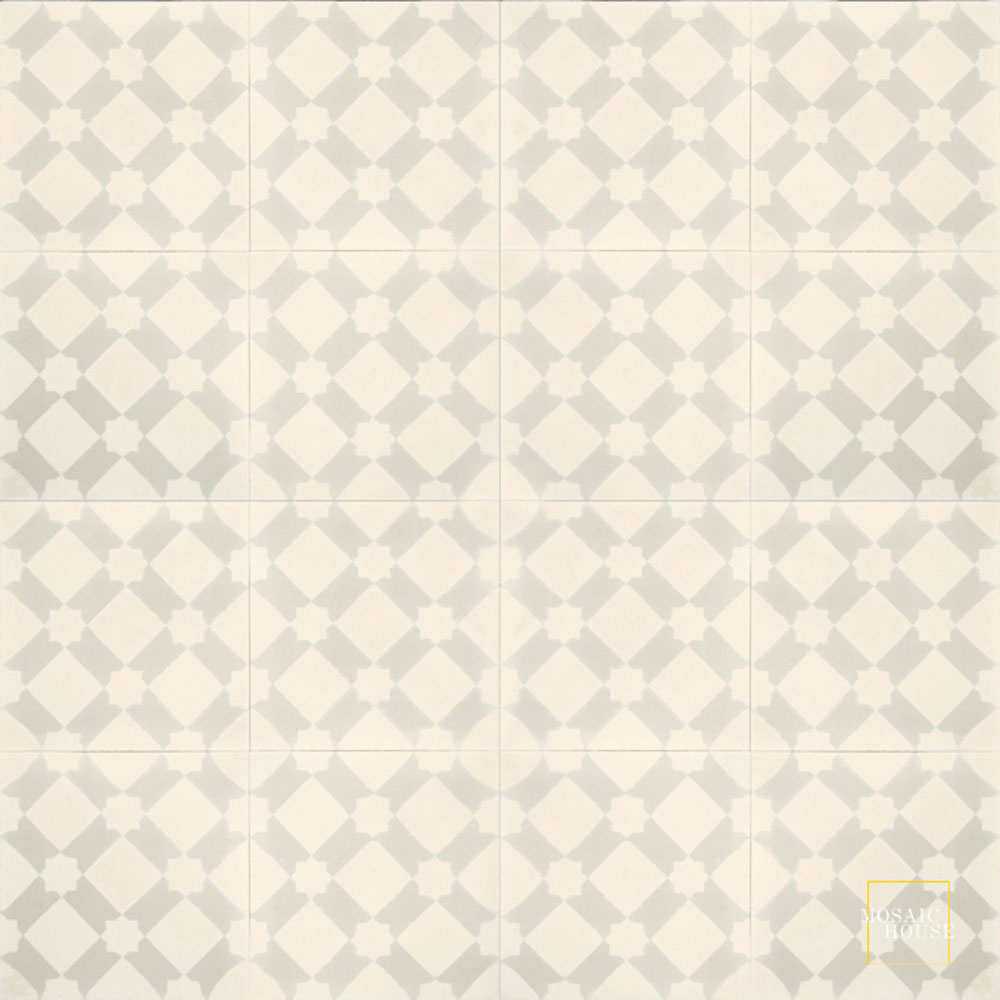 Anemone C3-42 - moroccan cement tile