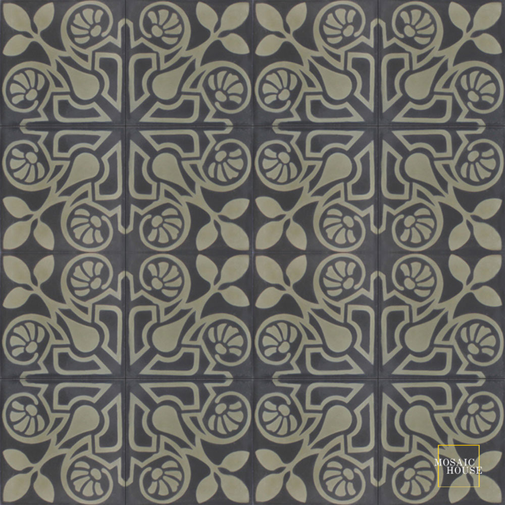 Brooklyn C4-34 - moroccan cement tile