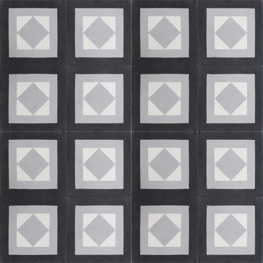 Cara F C4-14-24 - moroccan cement tile