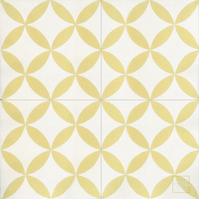 Daisy C14-2 - moroccan cement tile
