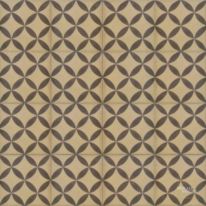 Daisy C31-5 - moroccan cement tile