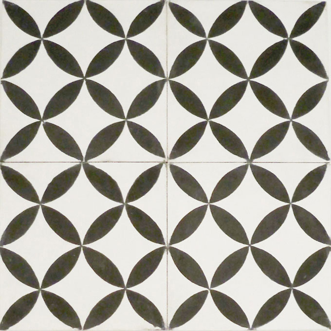 Daisy C14-4 - moroccan cement tile