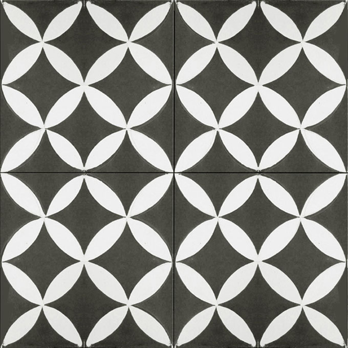 Daisy C4-14 - moroccan cement tile