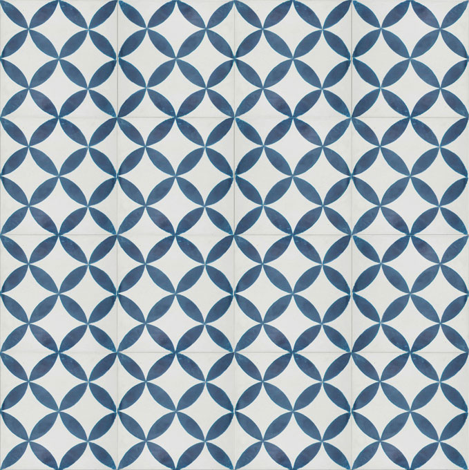 Daisy C14-41 - moroccan cement tile