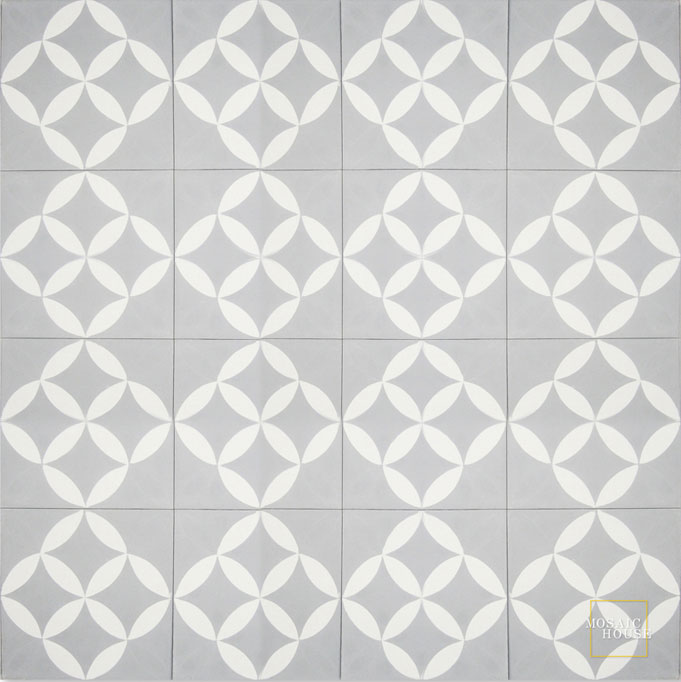 Daisy Mini C24-14 - moroccan cement tile