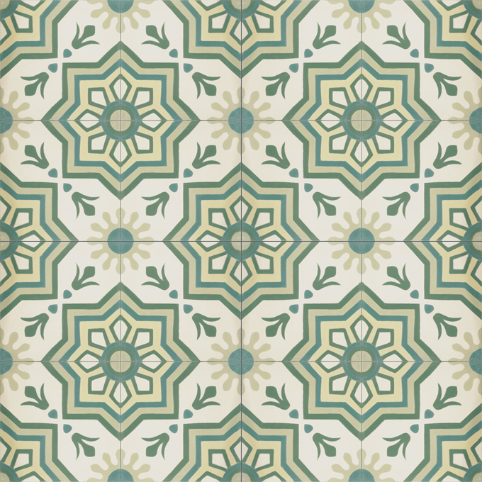 Madera C3-27-35-13-44 - moroccan cement tile