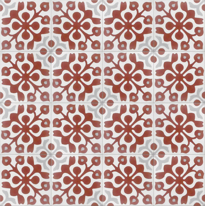 Marianne C10-14-24 - moroccan cement tile
