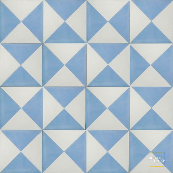 Mariposa C14-22 - moroccan cement tile