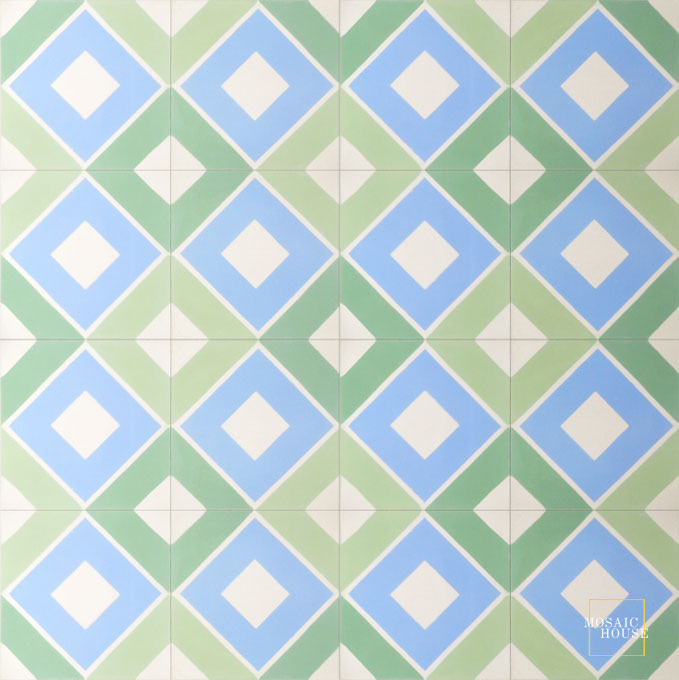 Moderno C14-6-30-8 - moroccan cement tile