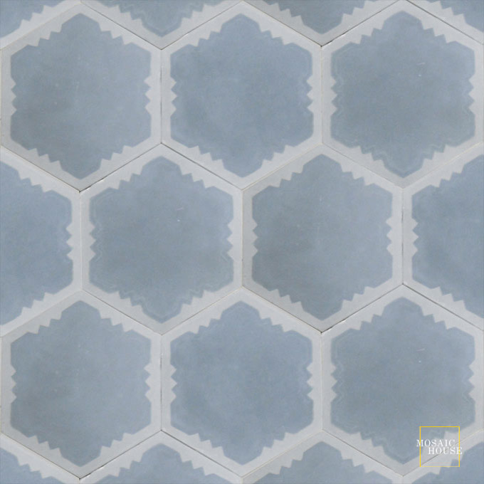 Parisienne Art C33-24 - moroccan cement tile