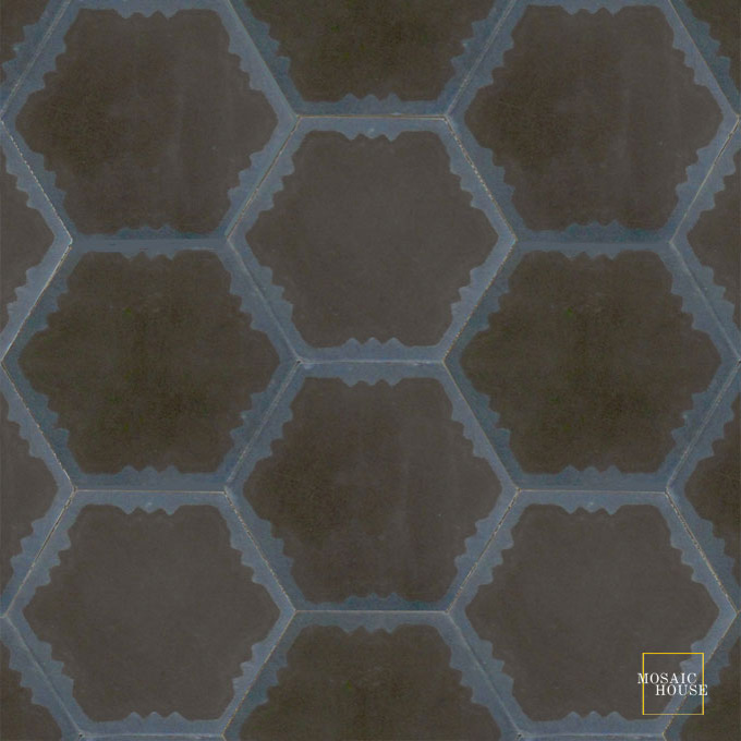Parisienne Art C4-41 - moroccan cement tile