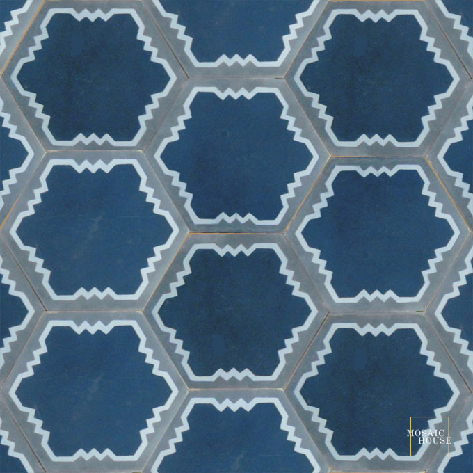 Parisienne Art C43-23-29 - moroccan cement tile