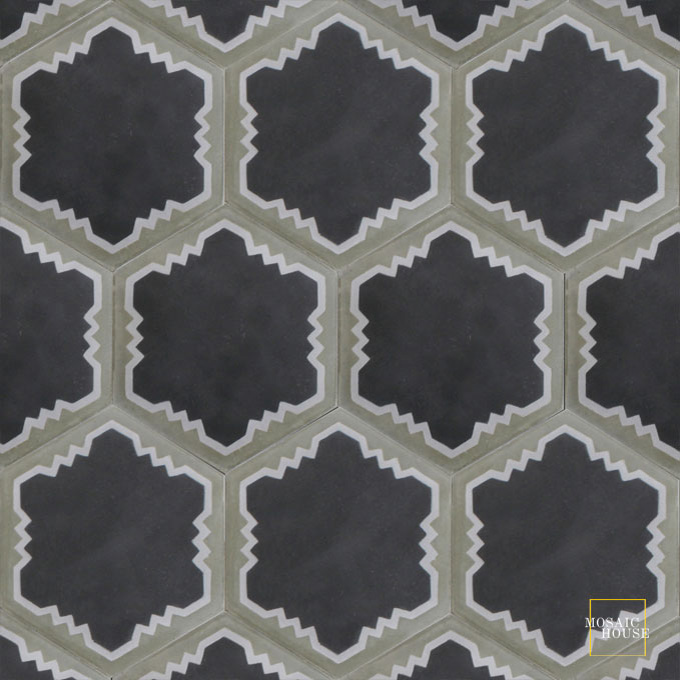 Parisienne Art C4-24-34 - moroccan cement tile