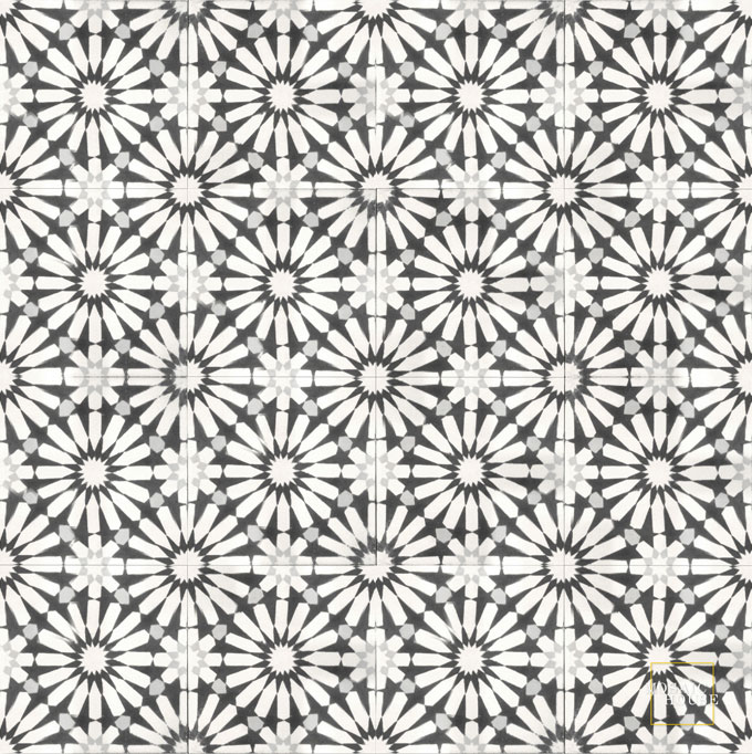 Rugosa C14-4-24 - moroccan cement tile