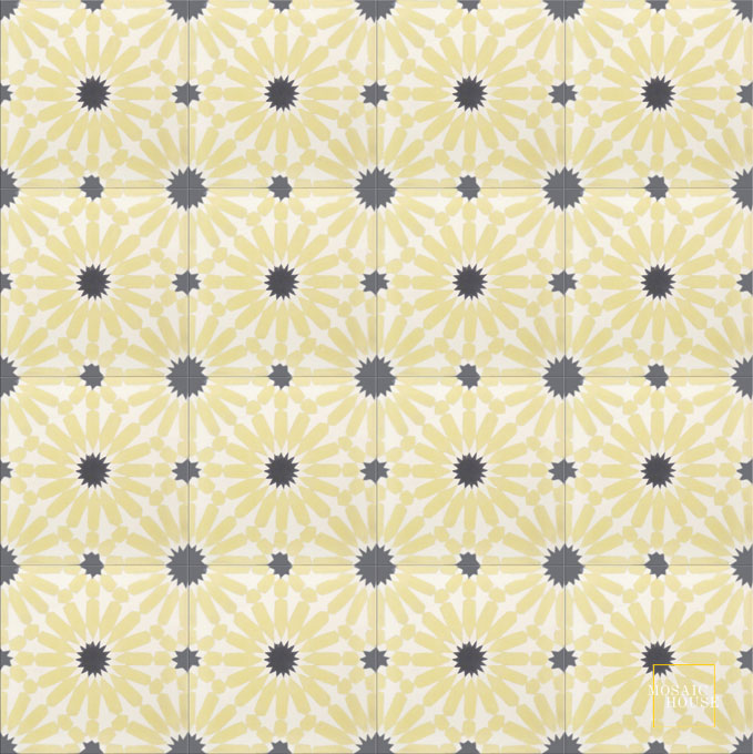 Rugosa C14-2-4 - moroccan cement tile