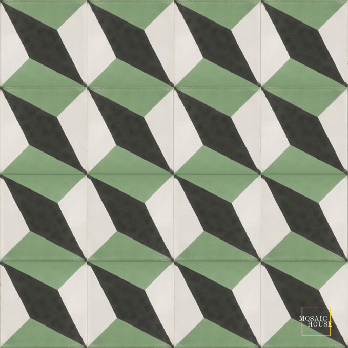 Sailor C4-14-30 - moroccan cement tile