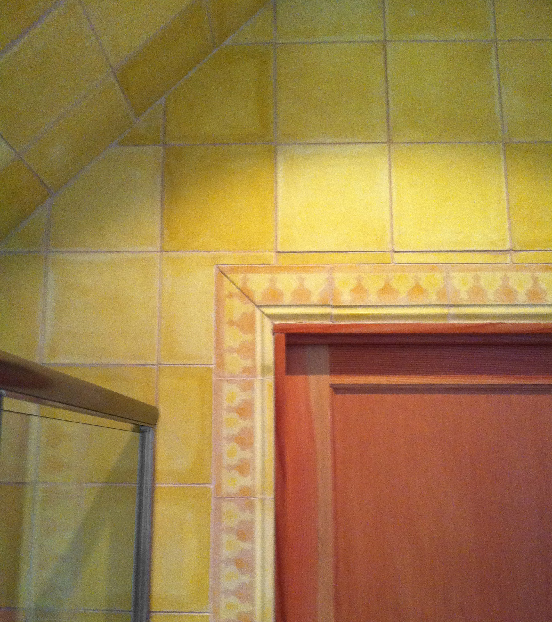 C2 Yellow - moroccan cement tile
