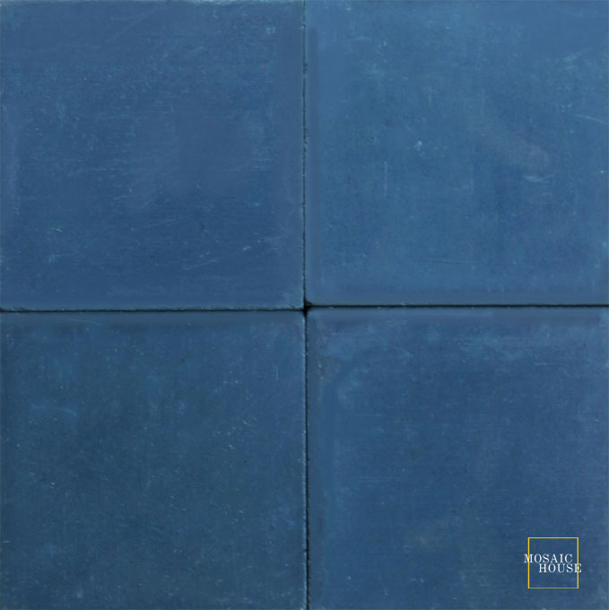 C41 Midnight Blue - moroccan cement tile