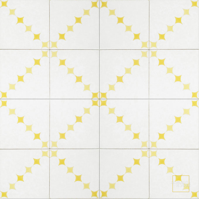 Wazo C14-2-15 - moroccan cement tile