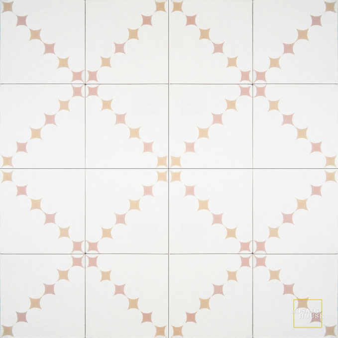 Wazo C14-21-7 - moroccan cement tile