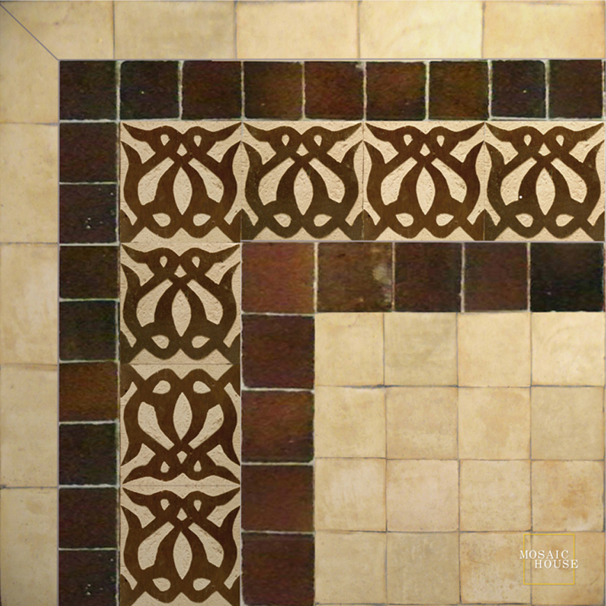 Amelie 19 Chiseled Tile