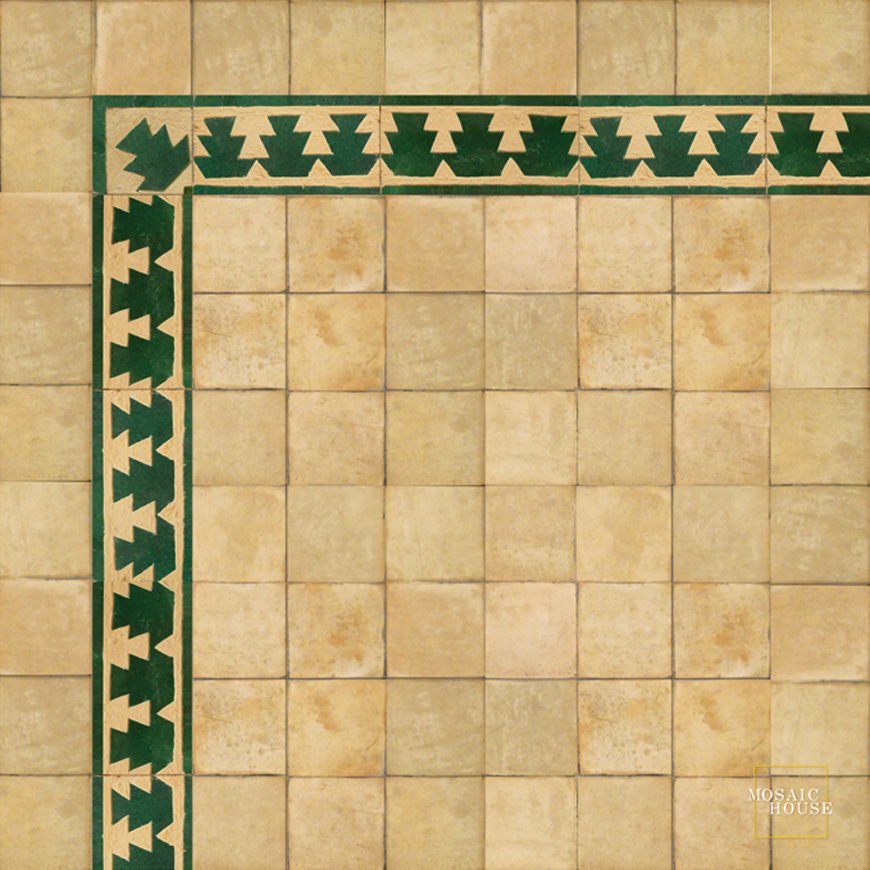 Edith 10 Chiseled Tile