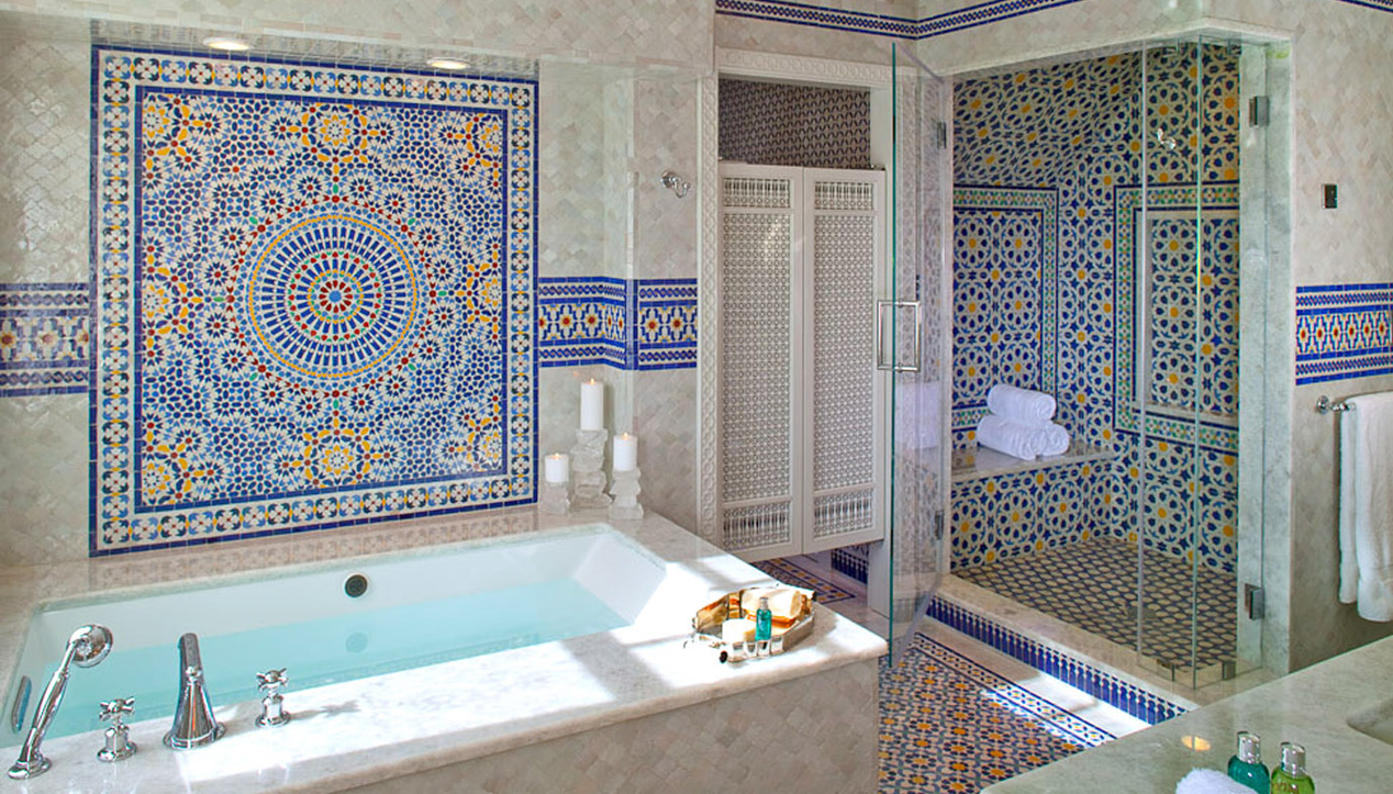24 Mosaic Bathroom Ideas Designs: Mosaic House