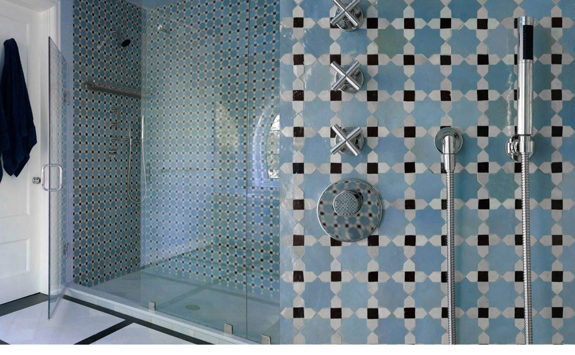 mosaic tiles for bathroom.  Mosaic House
