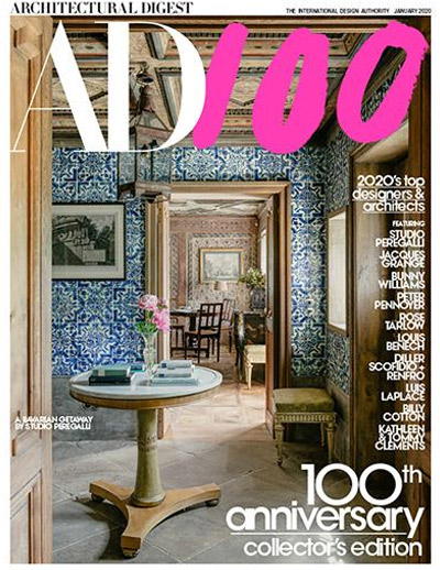 Architectural Digest moroccan tile