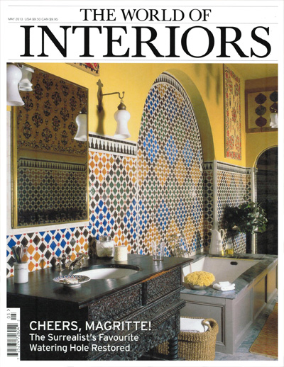 World of Interiors moroccan tile