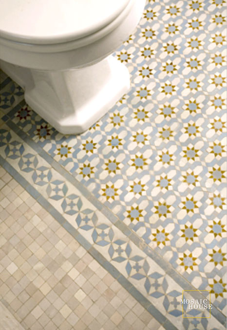 Diamond 1-17 - moroccan mosaic tile