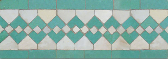 Sarout S 1-12 - moroccan mosaic tile
