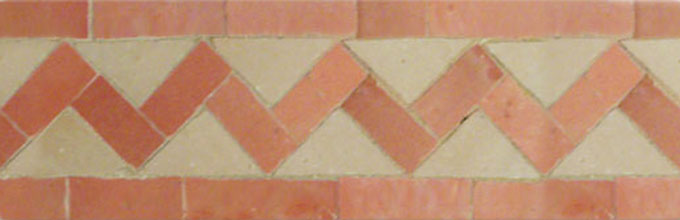 ZigZag S 11-22 - moroccan mosaic tile