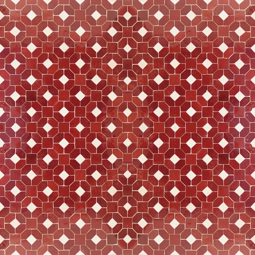 Jewel 7-1 mosaic field tile - moroccan mosaic tile
