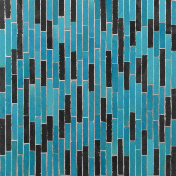 Linear 23-6 mosaic field tile - moroccan mosaic tile