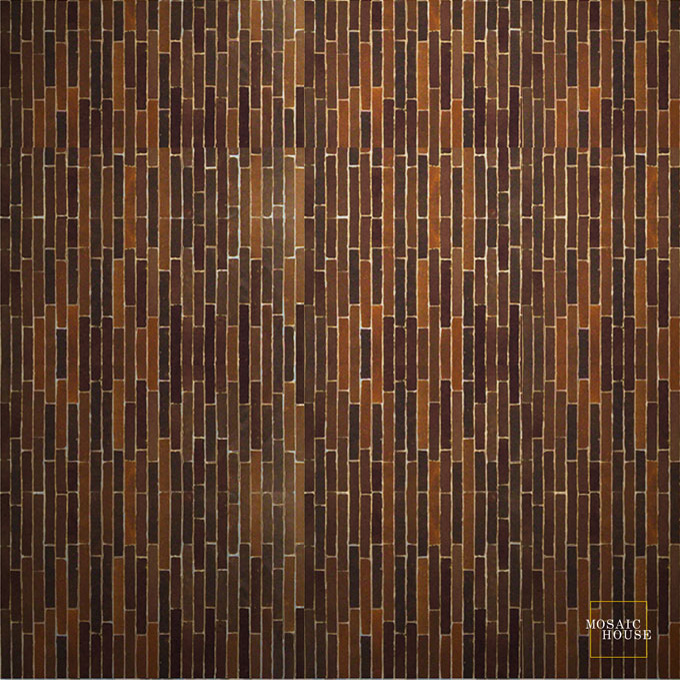 Linear 19 mosaic field tile - moroccan mosaic tile