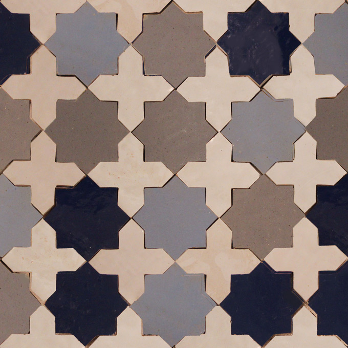 Mosaic House Moroccan tile Tanger Loose 4x4  solid zellige, mosaic, zellij, loose, size, glaze