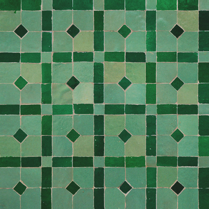 Madison 12-10 mosaic field tile - moroccan mosaic tile