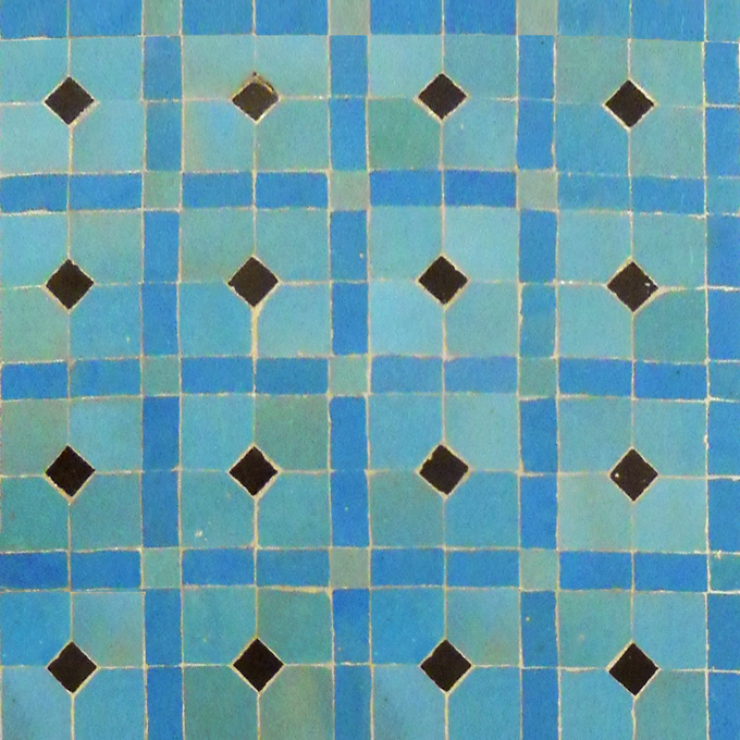 Madison 13-23-6 mosaic field tile - moroccan mosaic tile