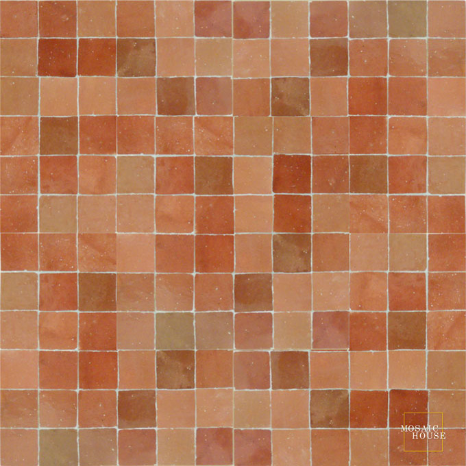 R'ceef 4 mosaic field tile - moroccan mosaic tile