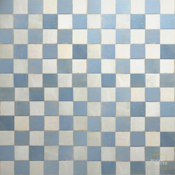R'ceef Multi 1-20 mosaic field tile - moroccan mosaic tile