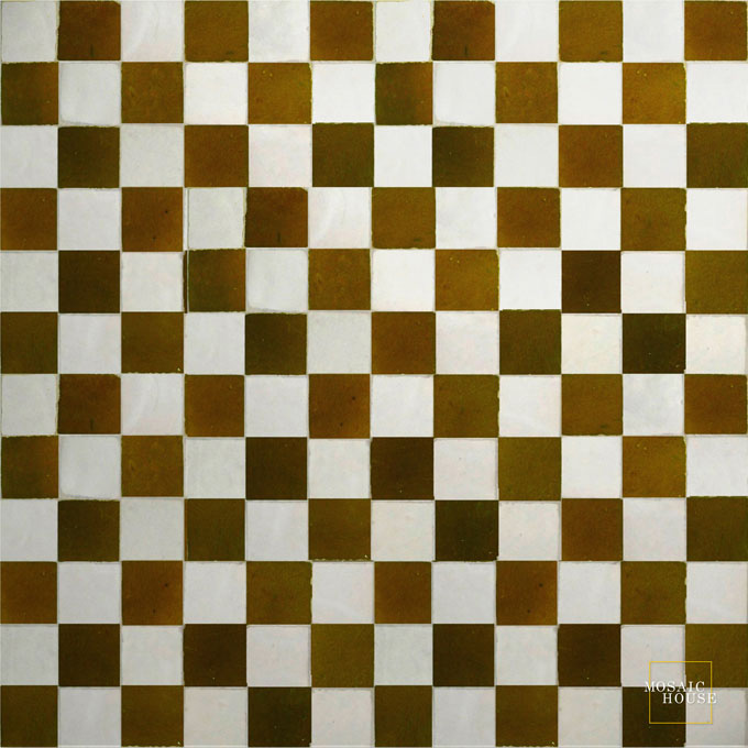 R'ceef Multi 1-19 mosaic field tile - moroccan mosaic tile