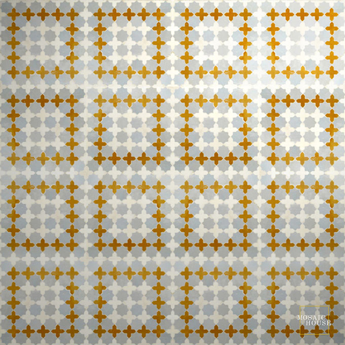 Tanger S 17-1-8 mosaic field tile - moroccan mosaic tile