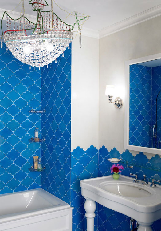 Peter Pennoyer moroccan mosaic tile